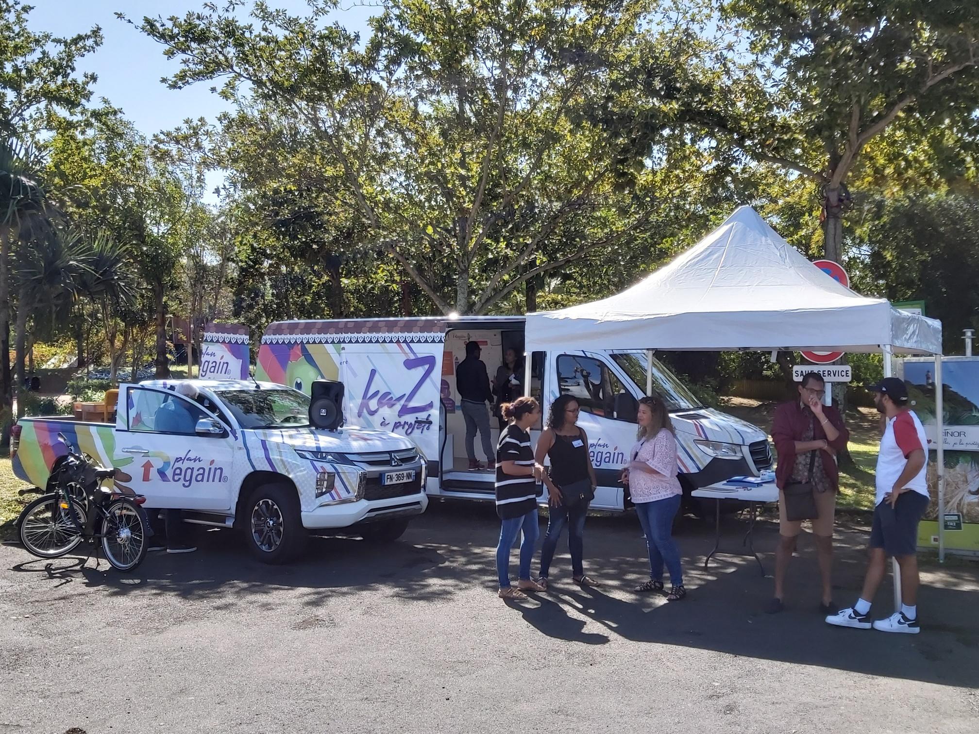 Regain Kaz'à Projets : la caravane
