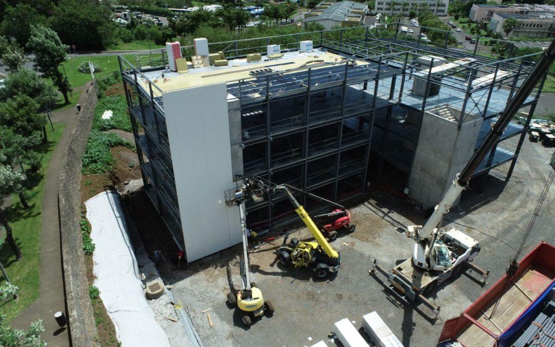 Le Cube - photo montage bâtiments